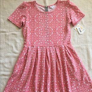 NWT LuLaRoe Amelia Dress Fit & Flare Pockets Sz 2X